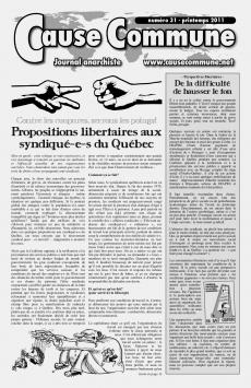 Cause Commune (Québec) CC31-cover