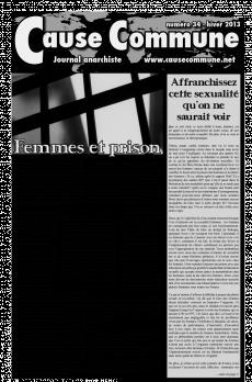 Journal Cause Commune #34: Spécial 8 mars