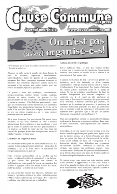 Cause Commune (Québec) CCx16-cover