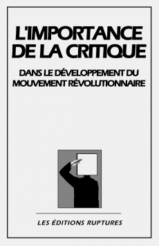 Les Éditions Ruptures